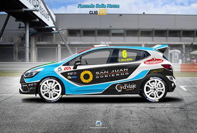 Renault Clío RS Eurocup 2014 Facundo Della Motta