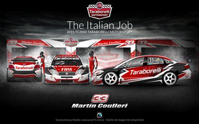 OFICIAL: 2015 Fiat Linea TC2000 – Taraborelli Motorsport – Piloto: Martín Coulleri