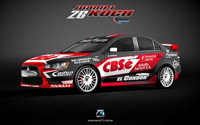 Mitsubishi Lancer TN Clase 3 – Juan Pablo Koch