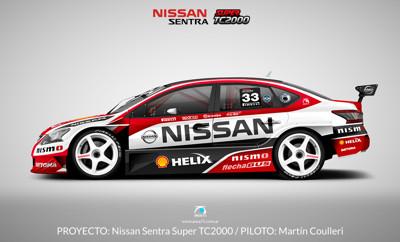 2015 Nissan Sentra Super TC2000 – Proyecto