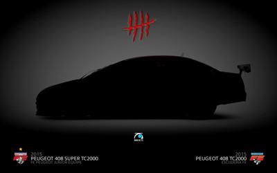 2015 Peugeot 408 Super TC2000 / TC2000 – FE Peugeot Junior Equipe & Escudería FE