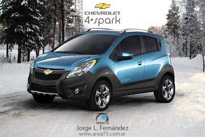 Spark  on Chevrolet Spark 4x4 2 400 Jpg