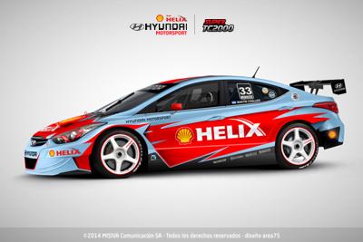 Hyundai Elantra Super TC2000 2015 – Proyecto
