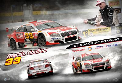 Póster central Revista Campeones Nº539: Martín Coulleri