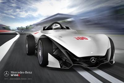 Mercedes W100-F de Jorge L. Fernández finalista en concurso de Autoblog.com.ar