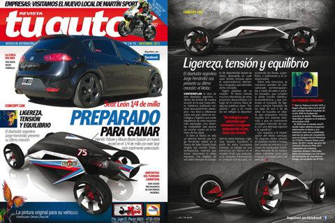 MOLOC III en revista TU AUTO