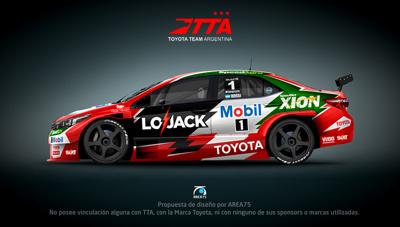 Toyota Corolla Super TC2000 Matías Rossi 2015 – Propuesta de diseño